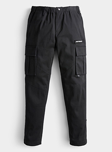 Black cargo pant  Slim fit