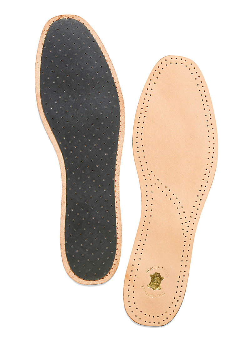 Genuine leather insole