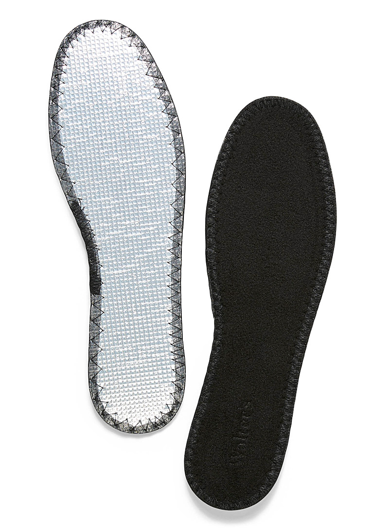 Aluminum polar fleece sole