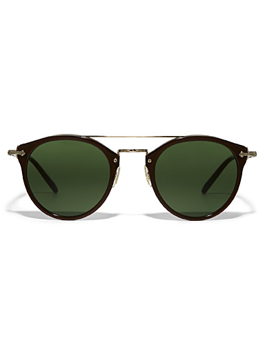 Remick round sunglasses