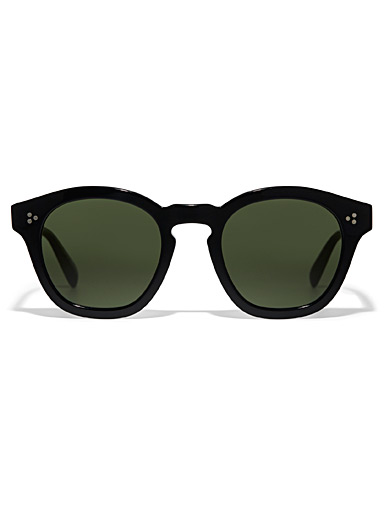 OLIVER PEOPLES Black Boudreau L.A round sunglasses for women