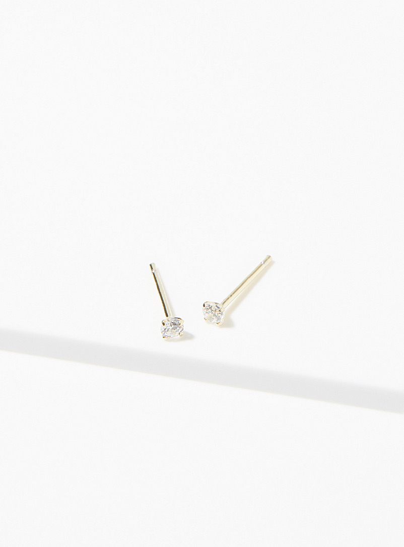 Midi34 Silver Les Valérie earrings for women
