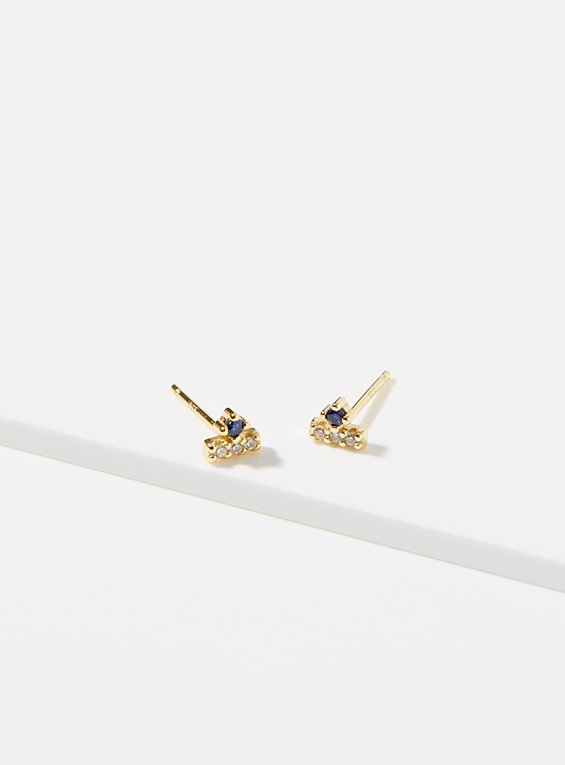 Midi34 x Simons Assorted gold  Les Anita earrings for women