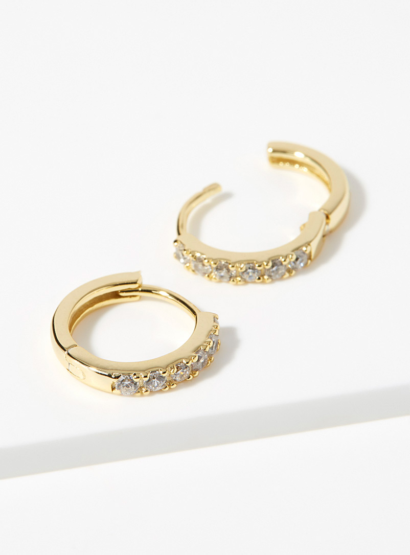 Les Sophia hoops - Earrings - Golden Yellow