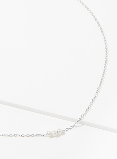 Midi34 Silver Claudie chain for women