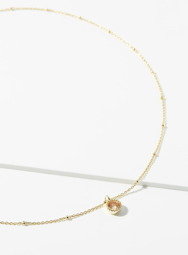 Midi34 x Simons Gold Sonia necklace for women