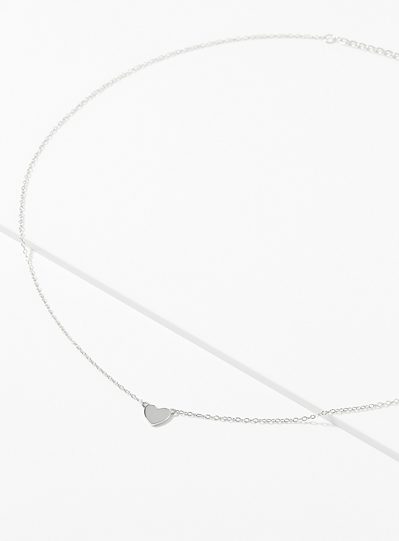 Midi34 x Simons Silver Silver Isabelle necklace for women