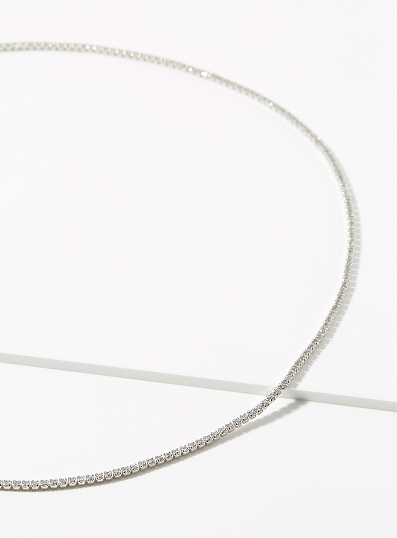 Midi34 x Simons Silver Claudia chain for women