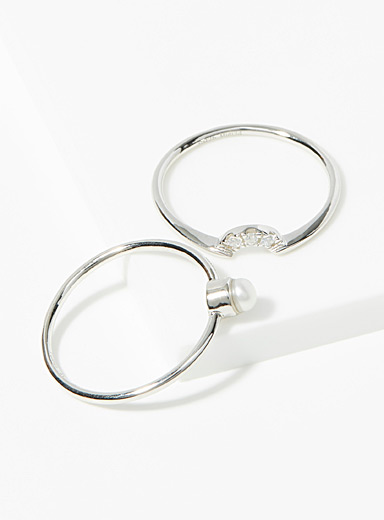Geneviève rings  Set of 2