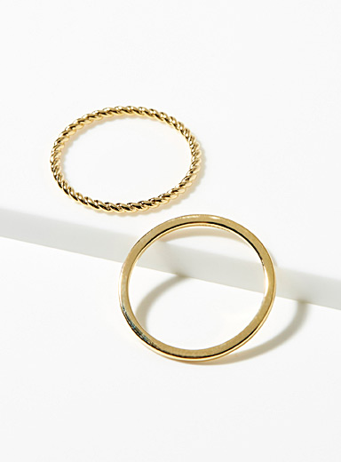 Becca rings  Set of 2