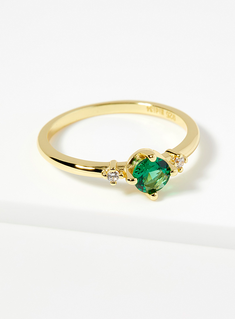 Midi34 x Simons Assorted green  Chloé ring for women