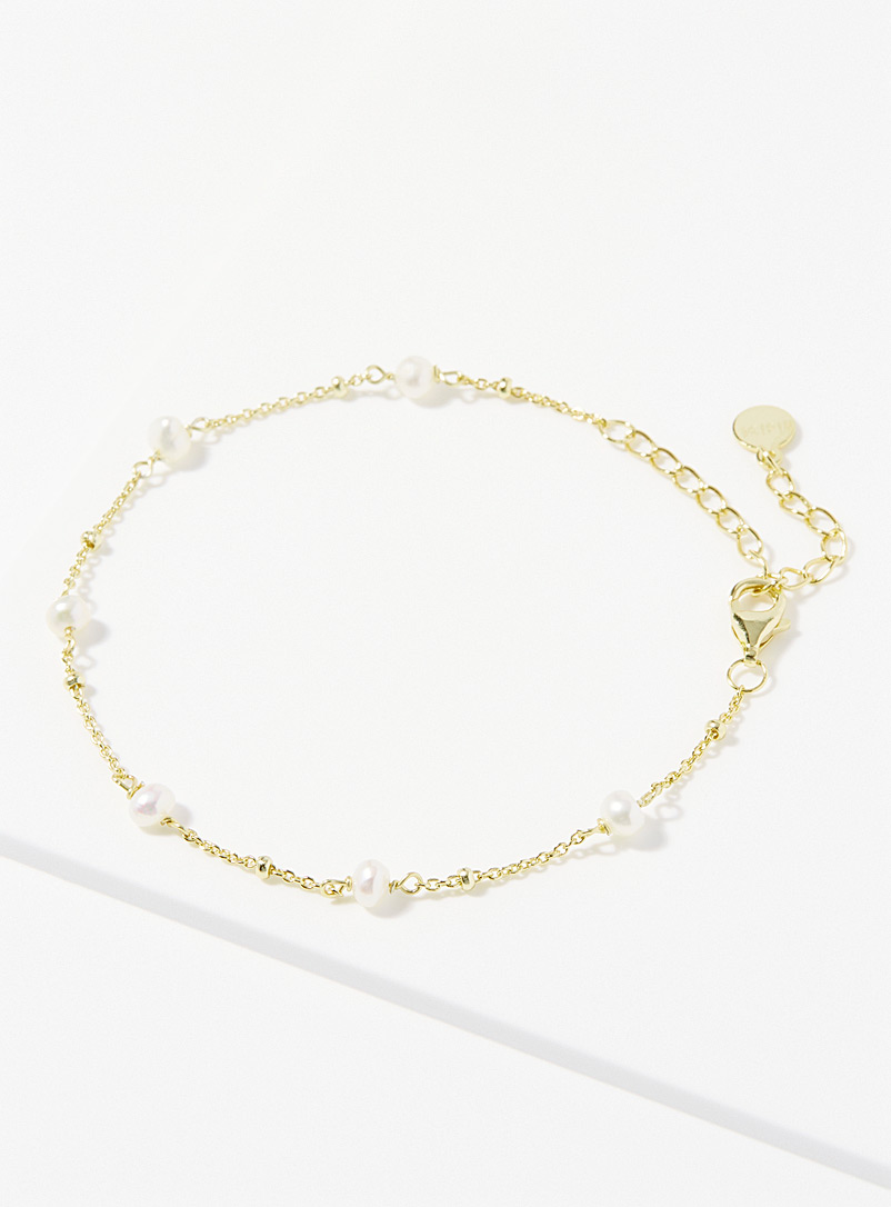Midi34 x Simons Assorted Françoise gold bracelet for women