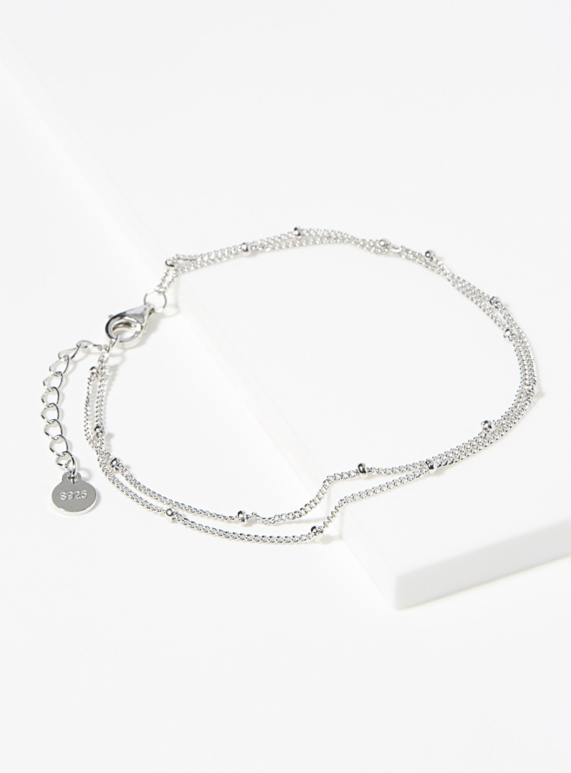 Midi34 Silver Rapha?lle bracelet for women
