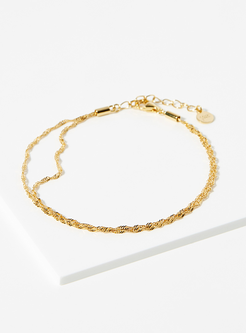 Midi34 x Simons Gold Savannah bracelet for women