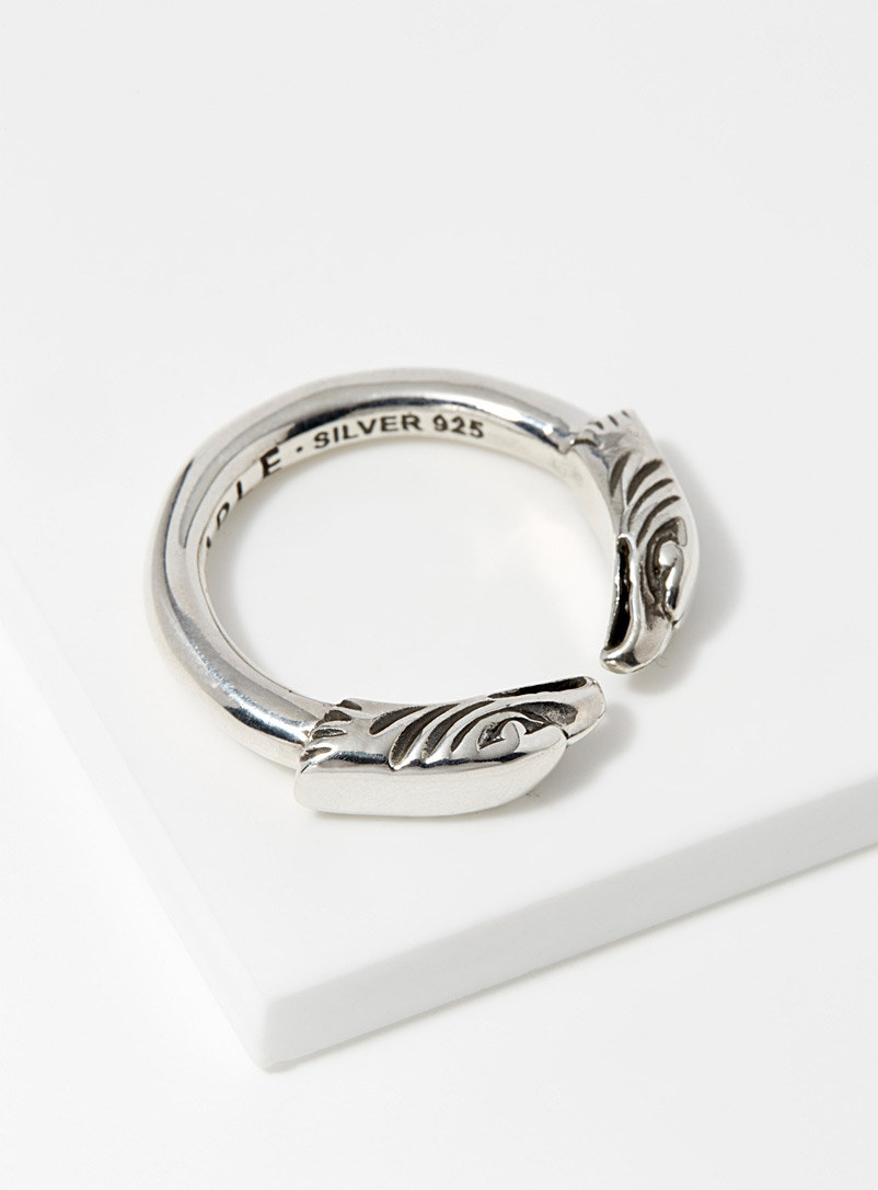 Eagle head ring - Rings - Silver