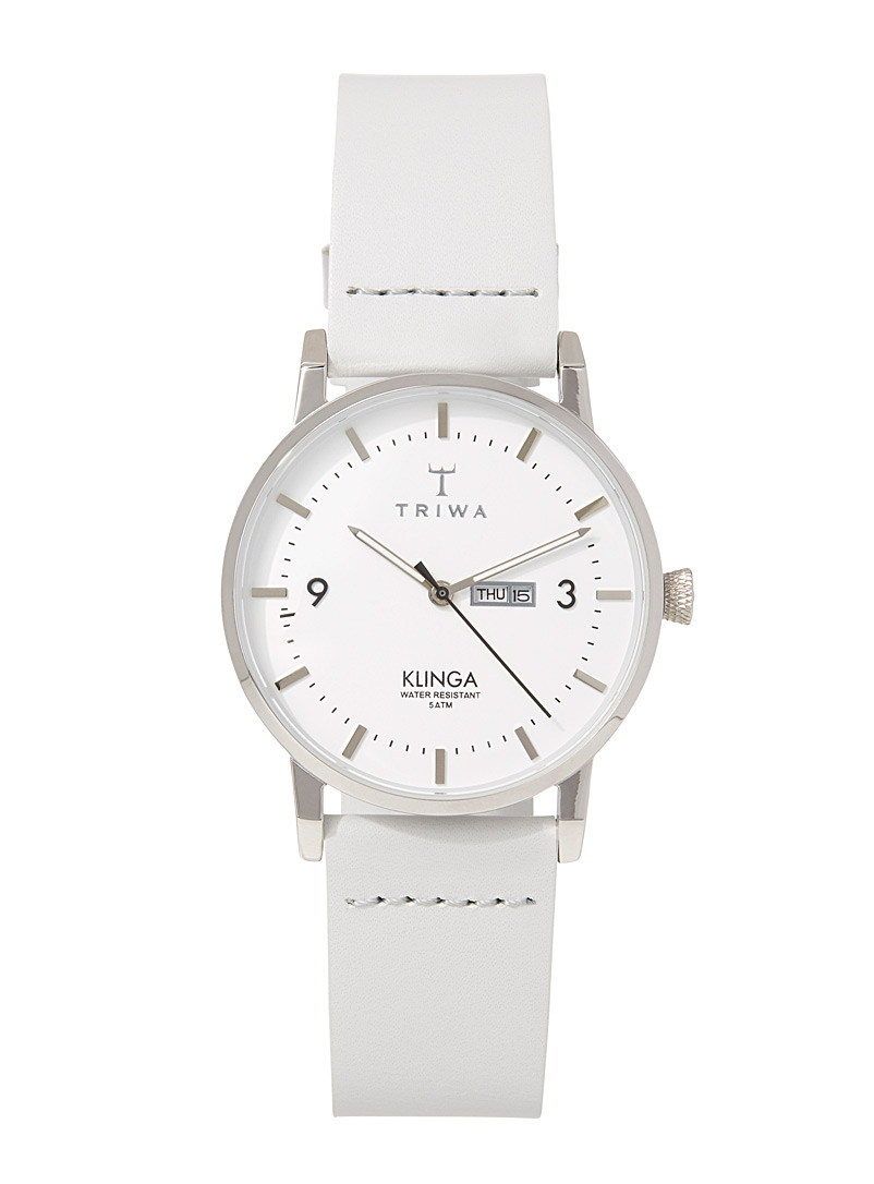 Snow Klinga watch - Watches - Light Grey
