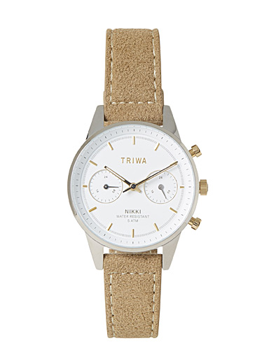 La montre Nikki Gleam sable