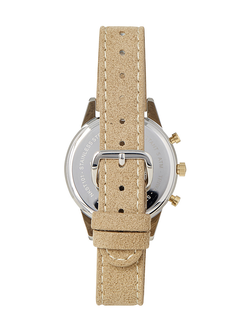 TRIWA Sand Sand Nikki Gleam watch for women
