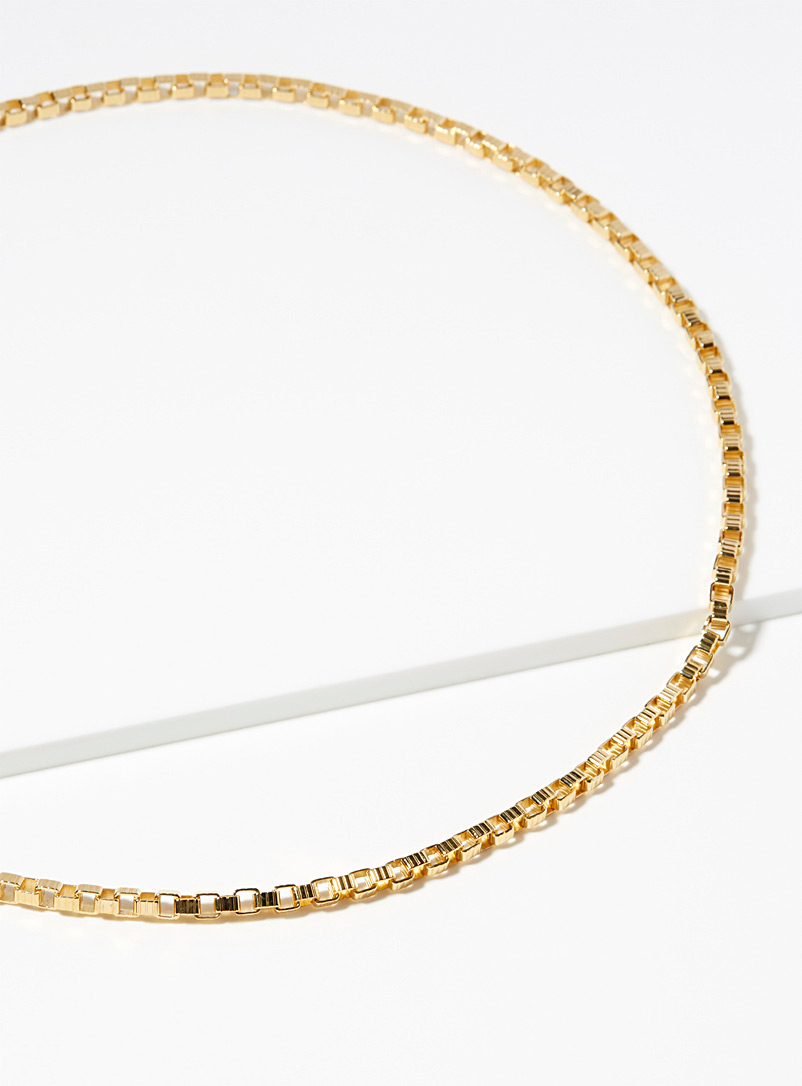 Signore choker - Designer Jewellery - Golden Yellow
