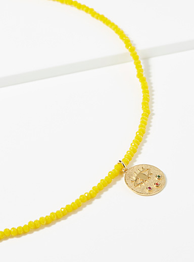 Kressida yellow necklace