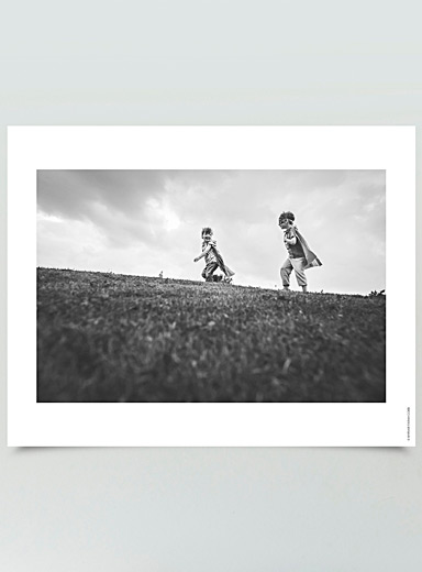 My Little Heroes photographic print <br>3 sizes available