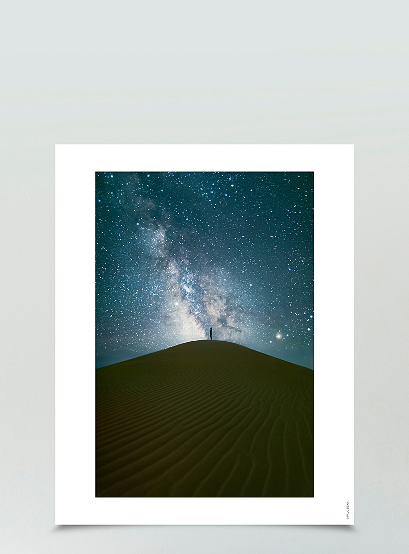 Desert Captive photographic print  3 sizes available - Wall Decor - Blue