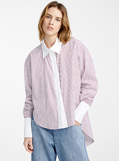 Tennis stripe blouse