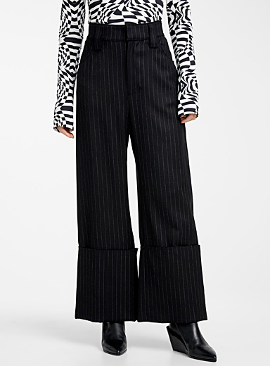 Tennis-stripe pant