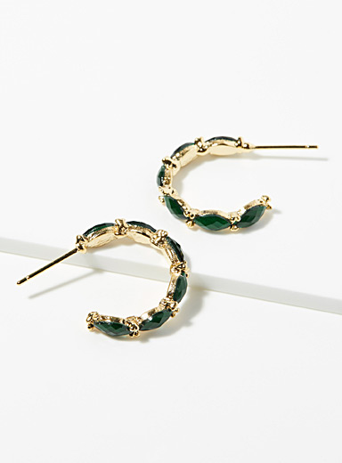 Faceted spindle hoops
