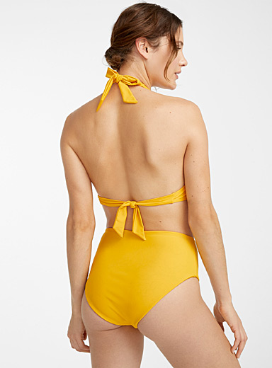 Reversible high-waist bottom