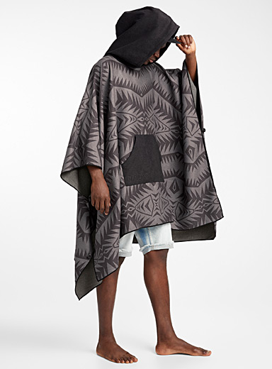 Cayambe recycled plastic poncho towel