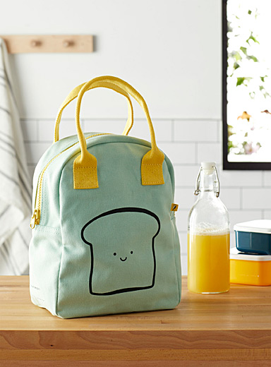 Happy bread organic cotton lunch bag