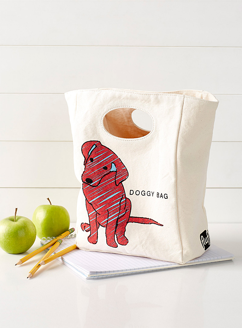 Loyal companion cutout handle lunch bag - Packed Lunches