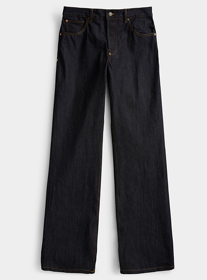 Phipps Dark Blue Raw Indigo pant for men