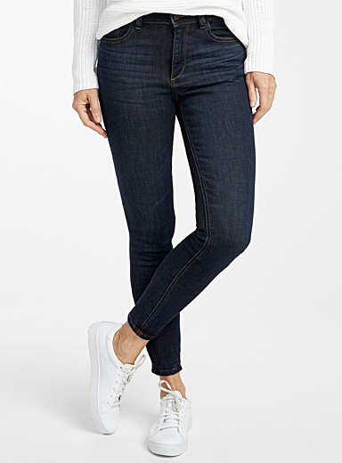 DL1961 Marine Blue Florence indigo skinny jean for women