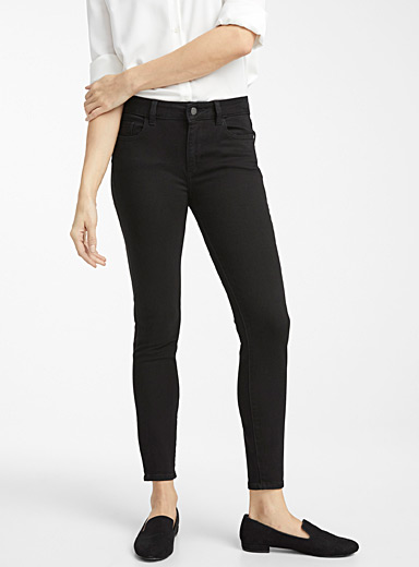 DL1961 Oxford Florence black skinny jean for women