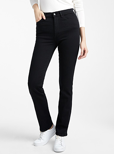 Mara black straight jean