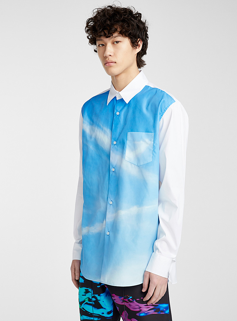 Fumito Ganryu Blue Sky shirt for men