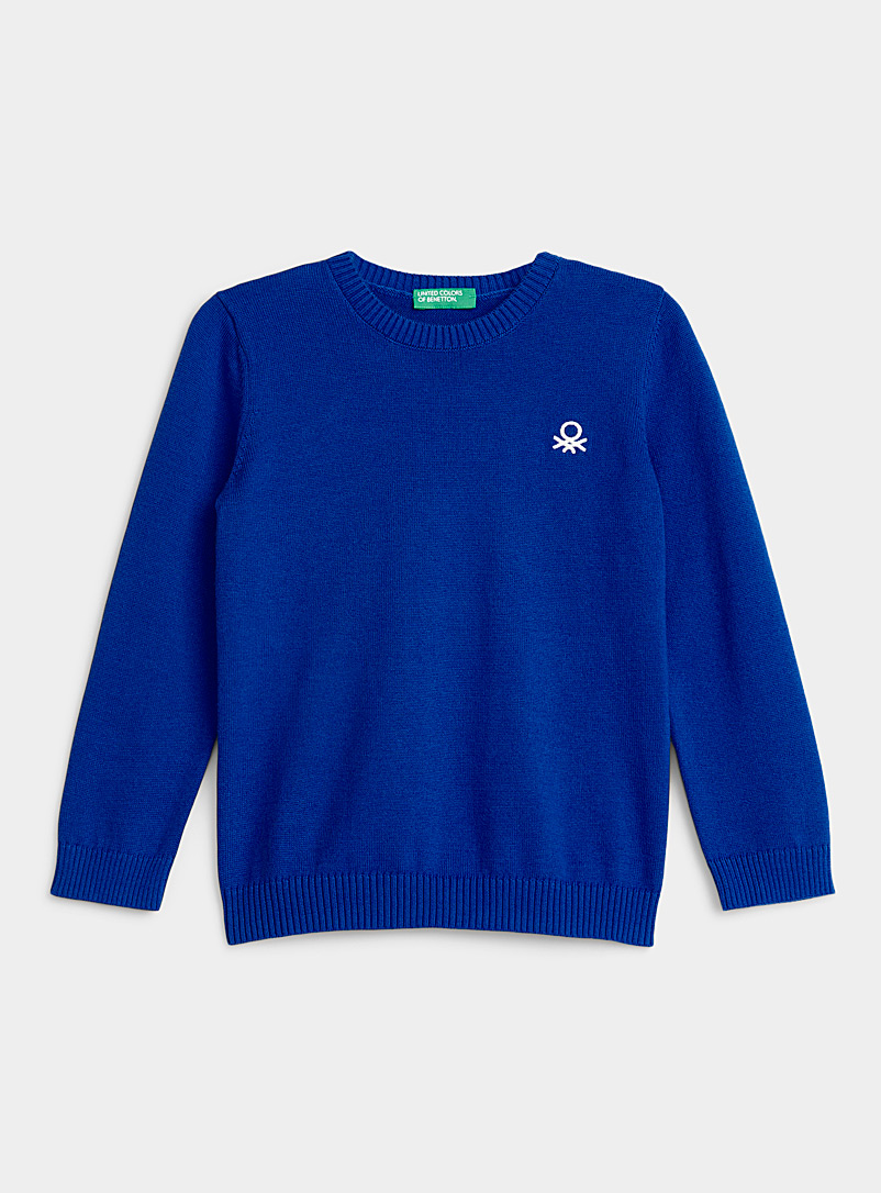 Colourful cotton knit sweater  Kids