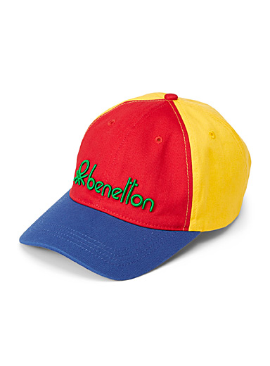 United Colors of Benetton Assorted Colourful signature cap for men