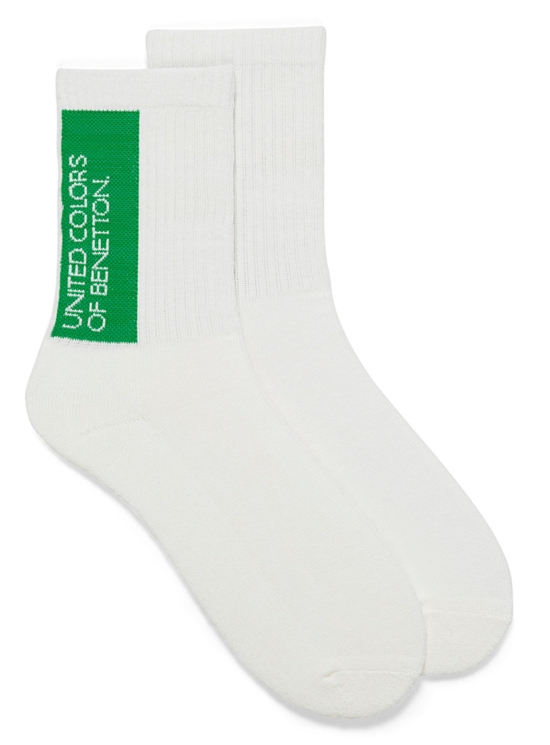 Ribbed sports socks