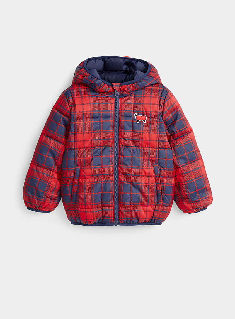 Reversible puffer jacket  Kids