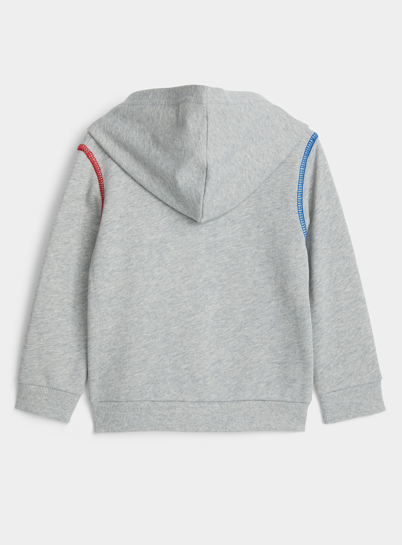 United Colors of Benetton Grey Colourful-trim tracksuit  2 pieces - Kids for women