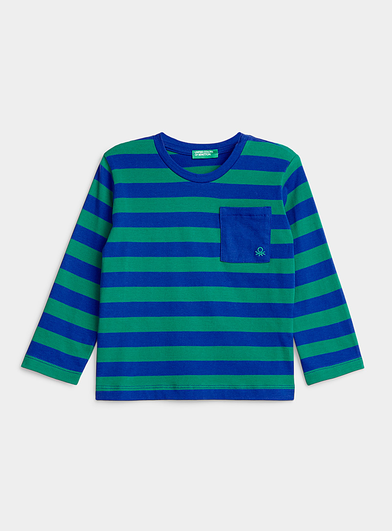 Multicolour stripe T-shirt  Kids