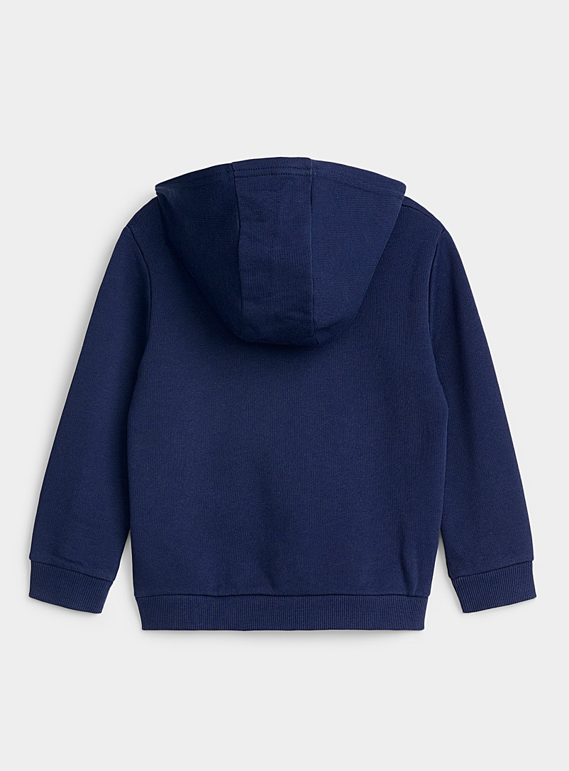 United Colors of Benetton Marine Blue Hooded logo sweatshirt cardigan  Kids for women