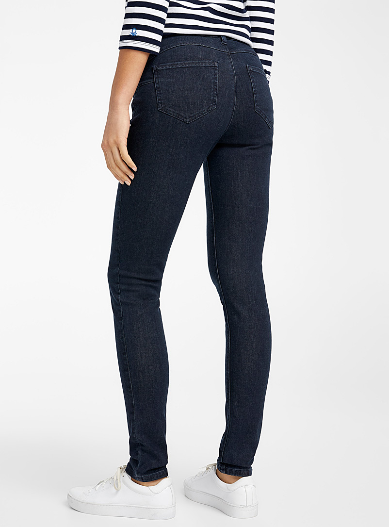 United Colors of Benetton Marine Blue Dark indigo skinny jean for women