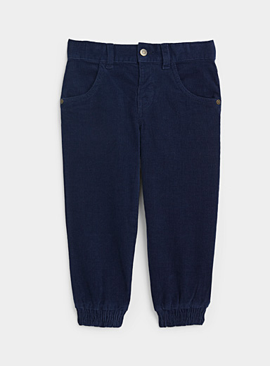 United Colors of Benetton Marine Blue Corduroy pant  Kids for women