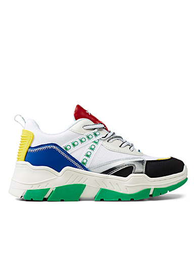 Iconic colour sneakers