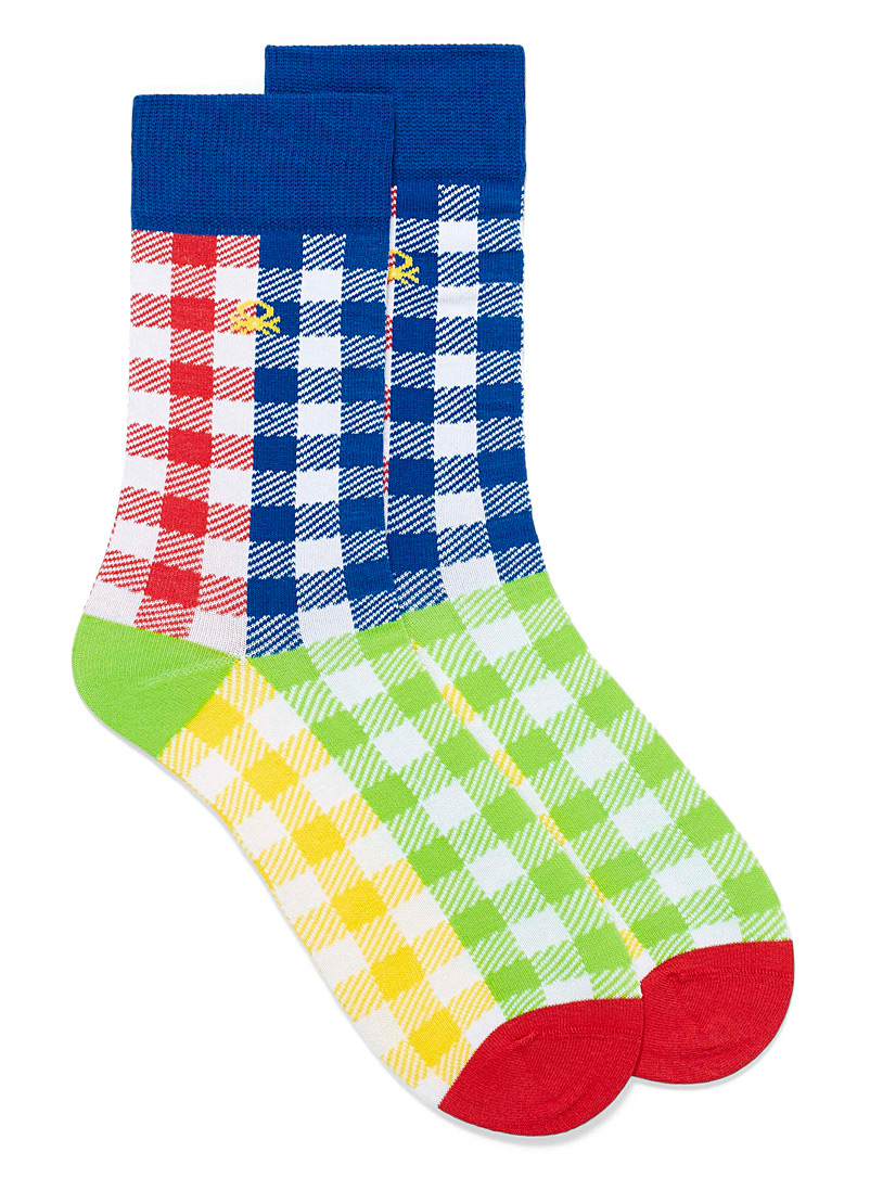 United Colors of Benetton Assorted Colourful eclectic socks for men