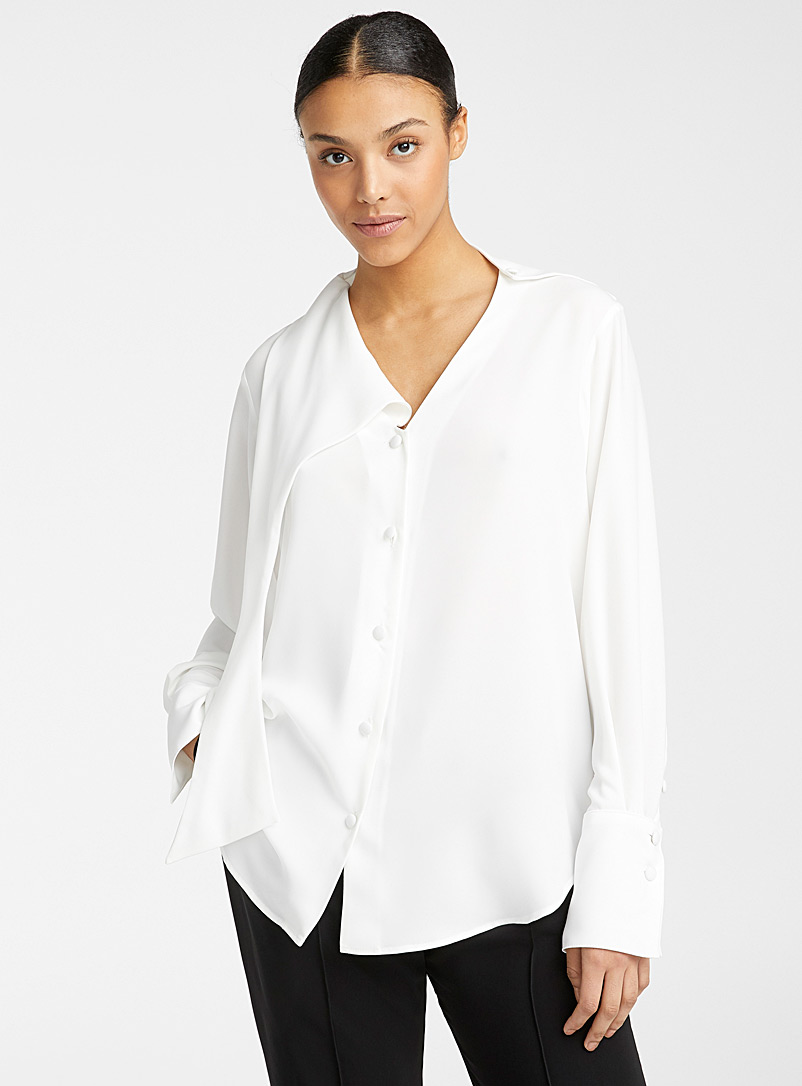 Beaufille White Vernon blouse for women